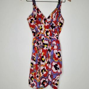 Yumi Kim Jayne Tulip Hem 100% Silk Floral Dress XS